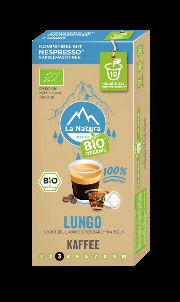 La Natura Lifestyle BIO Lungo - 10 Kapseln