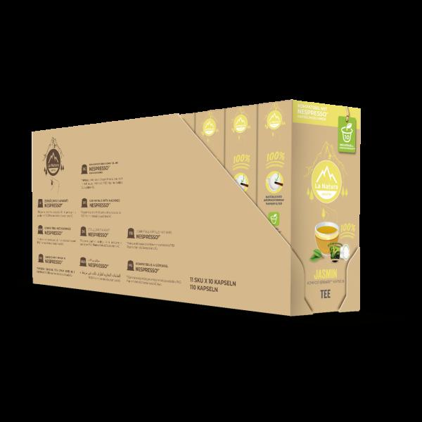 La Natura Lifestyle Jasmin Grüner Tee - 100er Set