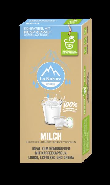La Natura Lifestyle Milch 3,5% - 10 Kapseln