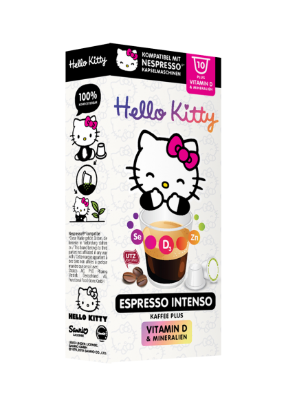 Hello Kitty® Espresso Intenso Plus - 10 Kapseln