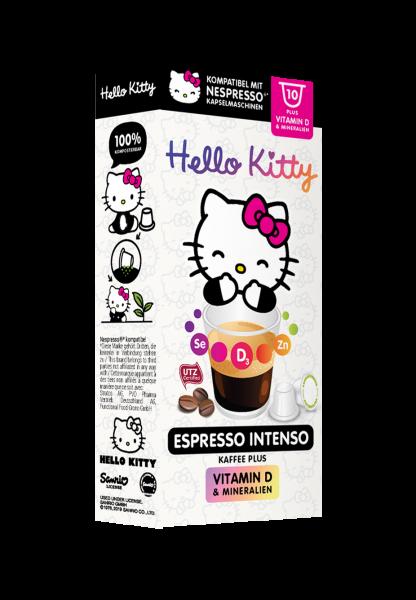 Hello Kitty® Espresso Intenso Plus - 10 Kapseln