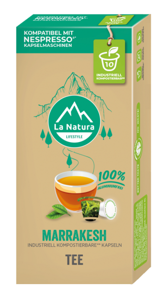 La Natura Lifestyle Marrakesh Tee - 10 Kapseln
