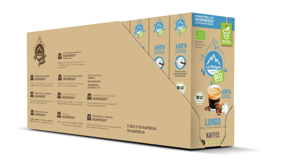 La Natura Lifestyle BIO Lungo - 100er Multipack