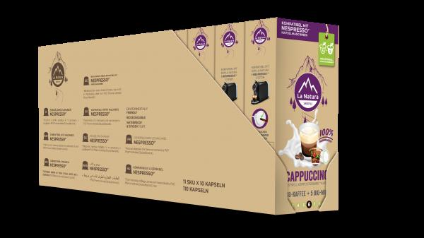 La Natura Lifestyle Cappuccino - 100er Multipack