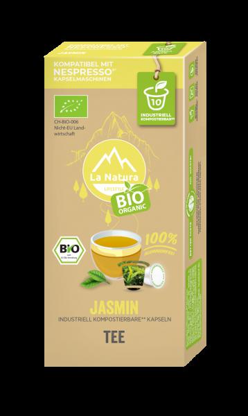 La Natura Lifestyle BIO Jasmin Tee - 10 Kapseln
