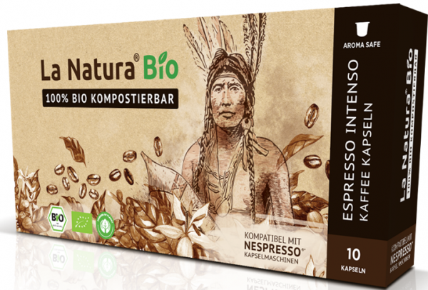 La Natura Lifestyle Premium BIO Espresso Intenso -10 Kapseln