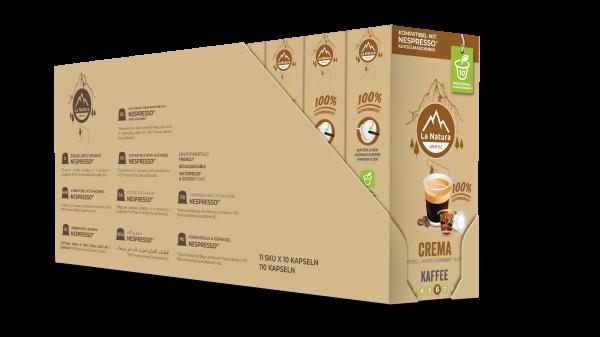 La Natura Lifestyle Crema - 100er Multipack