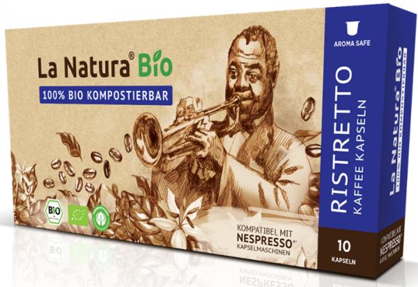 La Natura Lifestyle Premium BIO Ristretto -10 Kapseln