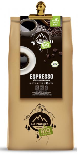 La Natura Lifestyle BIO Kaffee Espresso 1000g