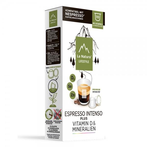 La Natura Lifestyle Espresso Intenso Plus - 10 Kapseln