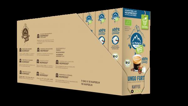 La Natura Lifestyle BIO Lungo Forte - 100er Multipack