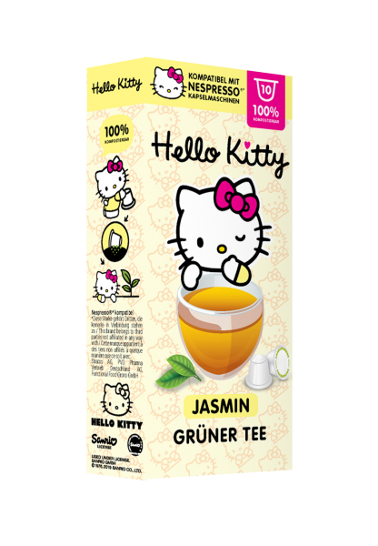 Hello Kitty® Jasmin Grüner Tee - 10 Kapseln