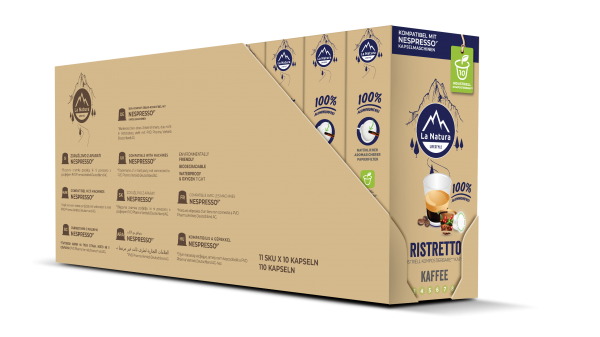 La Natura Lifestyle Ristretto - 100er Multipack