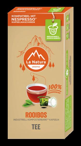 La Natura Lifestyle Rooibos Tee - 10 Kapseln