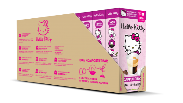 Hello Kitty® Cappuccino - 100-er Multipack