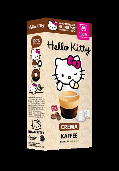 Hello Kitty® Crema - 10 Kapseln