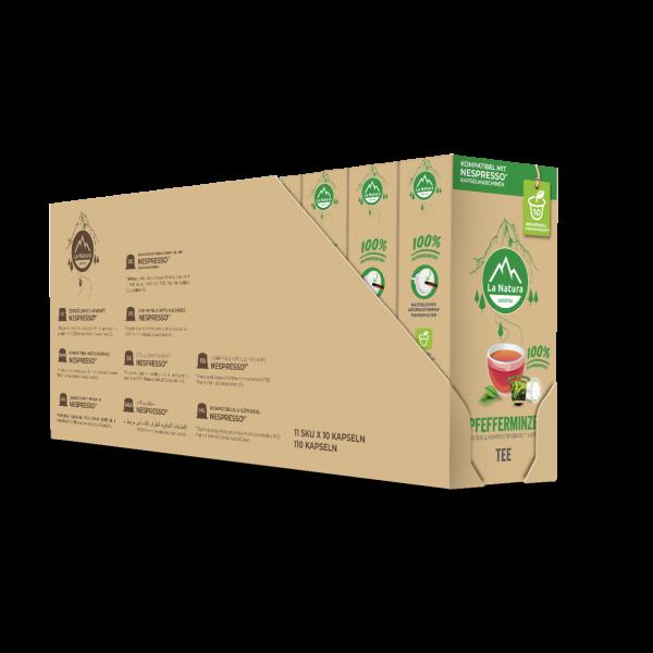 La Natura Lifestyle Pfefferminze Tee - 100er Multipack