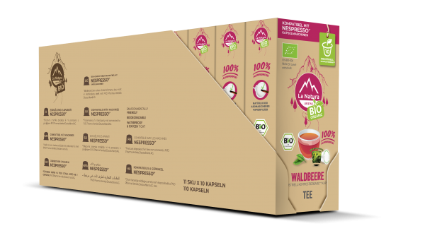 La Natura Lifestyle BIO Waldbeere Tee - 100er Multipack