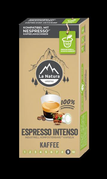 La Natura Lifestyle Espresso Intenso - 10 Kaffeekapseln