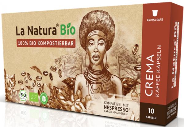 La Natura Lifestyle Premium BIO Crema - 10 Kapseln