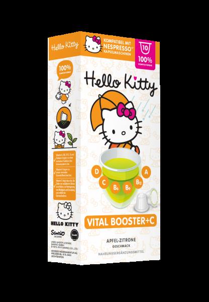 Hello Kitty® Vitalbooster + C - 10 Kapseln