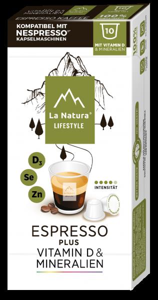 La Natura Lifestyle Espresso Plus - 10 Kapseln