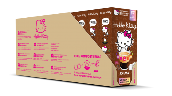 Hello Kitty® Crema Plus - 100-er Multipack