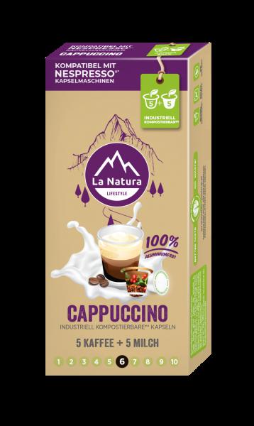 La Natura Lifestyle Cappuccino - 10 Kapseln