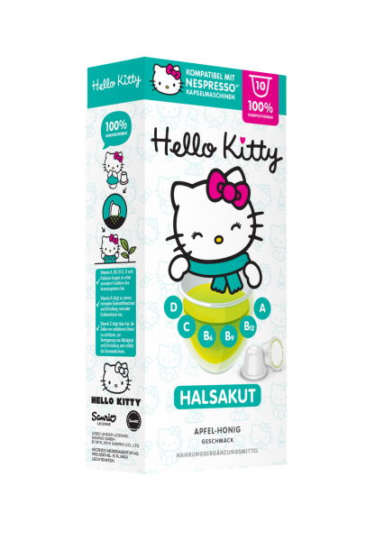 Hello Kitty® Hals Akut - 10 Kapseln