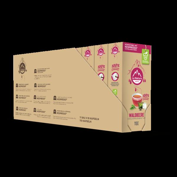 La Natura Lifestyle Waldbeere Tee - 100er Multipack