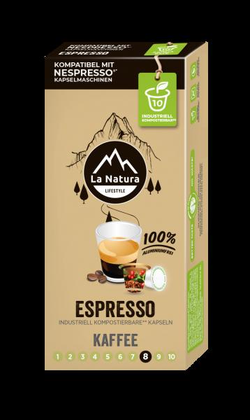La Natura Lifestyle Espresso - 10 Kapseln