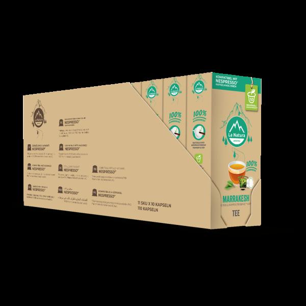 La Natura Lifestyle Marrakesh Tee - 100er Set