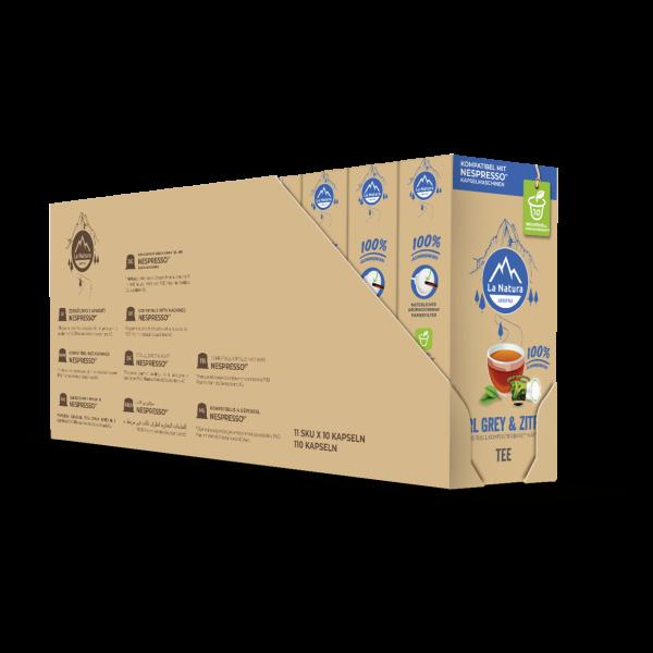 La Natura Lifestyle Earl Grey & Zitrus Tee - 100er Multipack