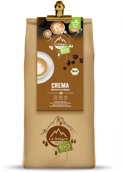 La Natura Lifestyle BIO Milder Kaffee Crema 1000g