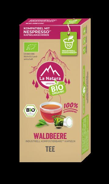 La Natura Lifestyle BIO Waldbeere Tee - 10 Kapseln