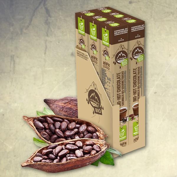 Bio-Hot Chocolate Gourmet Kakao - 60er Mulitpack - La Natura Lifestyle