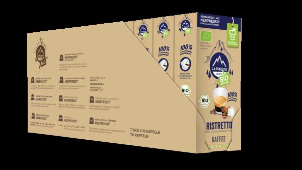 La Natura Lifestyle BIO Ristretto - 100er Multipack