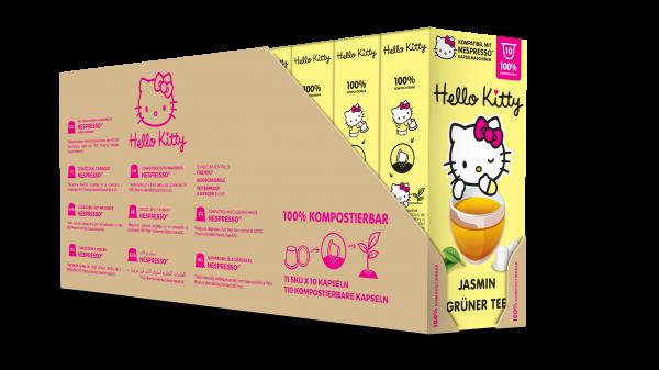 Hello Kitty® Jasmin Grüner Tee - 100-er Multipack