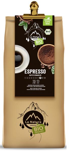 La Natura Lifestyle BIO Kaffee Espresso 250g