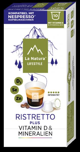 La Natura Lifestyle Ristretto Plus - 10 Kapseln
