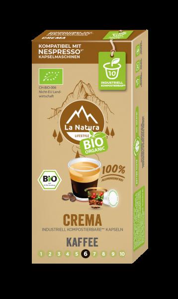 La Natura Lifestyle BIO Crema - 10 Kapseln