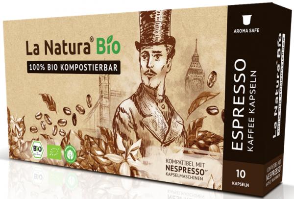 La Natura Lifestyle Premium BIO Espresso -10 Kapseln