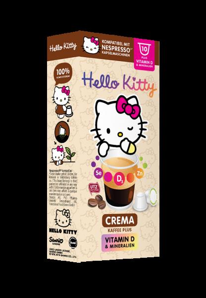 Hello Kitty® Crema Plus - 10 Kapseln
