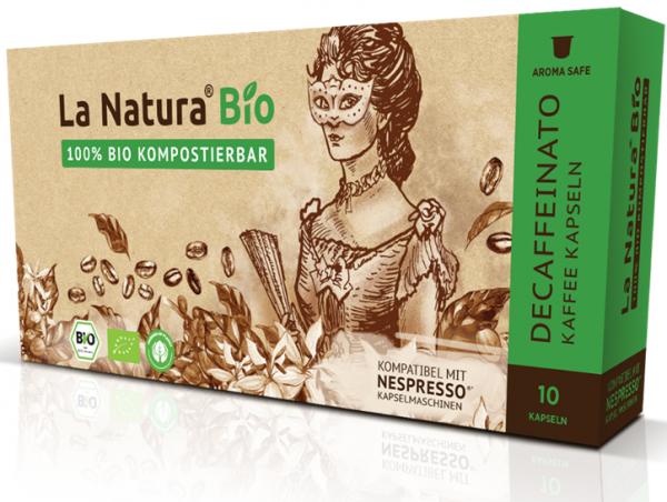 La Natura Lifestyle Premium BIO Decaffeinato -10 Kapseln