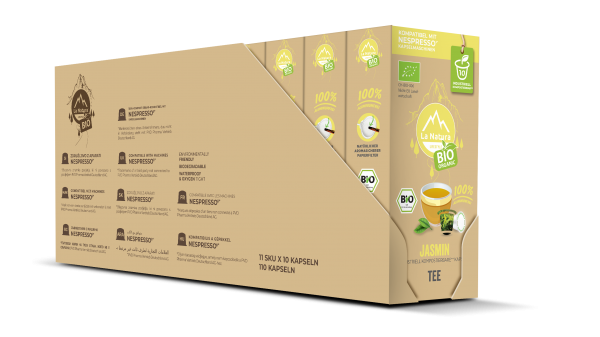 La Natura Lifestyle BIO Jasmin Tee - 100er Multipack