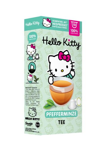 Hello Kitty® Pfefferminze - 10 Kapseln