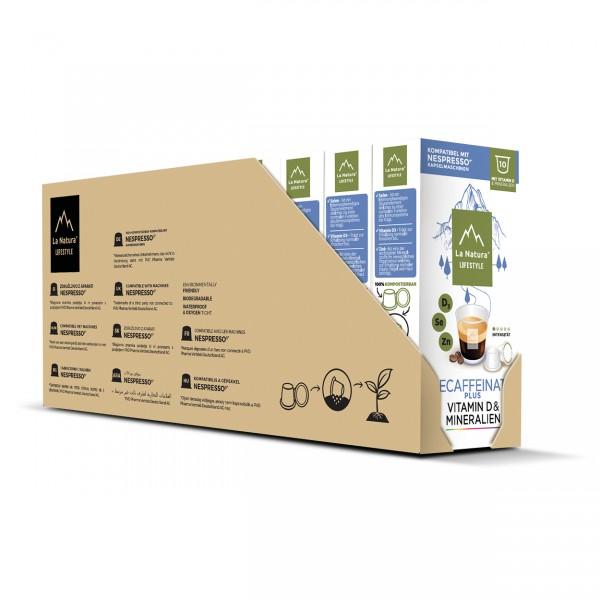 La Natura Lifestyle Decaffeinato Plus - 100er Multipack