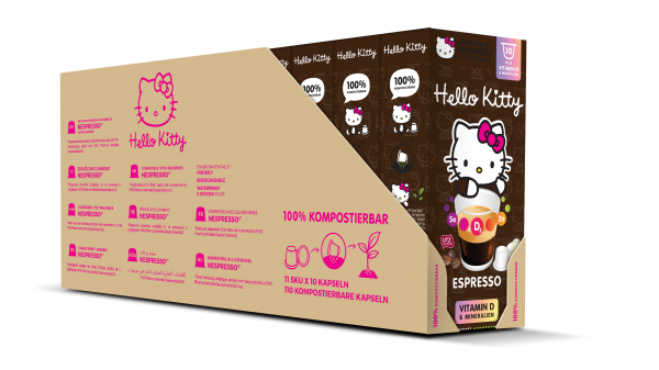 Hello Kitty® Espresso Plus - 100-er Multipack