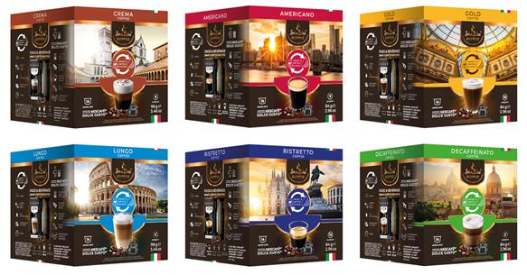 SanSiro Geniesser Set - 6 Sorten SanSiro Kaffeekapseln - Dolce Gusto® kompatibel