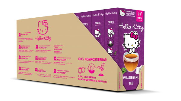 Hello Kitty® Waldbeere Tee - 100-er Multipack